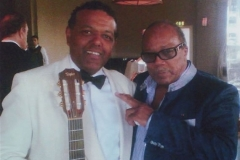 Marcus and  Quincy Jones,