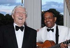 Marcus with Sir Michael Parkinson